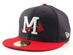 Mississippi Braves MiLB 59FIFTY Hats $34.99