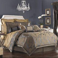 croscill sapphire bedding | ... to continue shopping from this croscill sapphire bedding collection