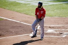 Washington Nationals right fielder Jayson Werth