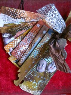 Little tag-book by Susanna; Sielunsolinaa.blogspot.com