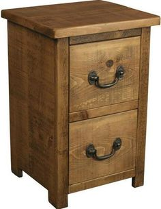 Rustic Plank Furniture New Real Solid Wood Chunky Pine Bedside Cabinet Chests Indigo