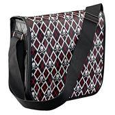 Goth Skull & Crossbones Handbag - MS75016 - Design Toscano