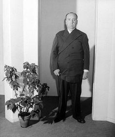 John Florea, Portrait of Alfred Hitchcock, Hollywood, 1943