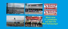 Videoblog: Wozu eine 3. Landebahn auf dem Flughafen Wien-Schwechat? Bahn, Desktop Screenshot