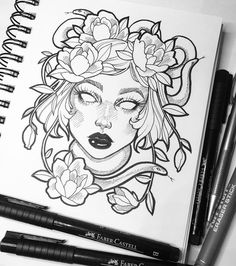Hello lovelies I just popped by to wish you all a happy & safe holiday season - I am super grateful for all of the support I have received here & I wish you all the best in 2017 ✨ #art #artist #graphicartery #myart #ink #flowers #illustration #instaart #sketch #sketchbook #drawing #artoftheday
