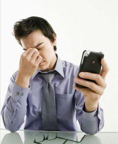Mau uso da tecnologia está por trás de reclamações por estresse ou falta de tempo!!!  :)