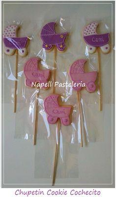 Chupetin Cookies con glase Cochesito