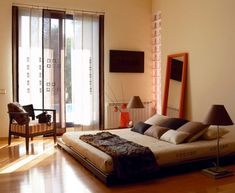 Bedroom Design Interior Decorating Ideas Unique Zen Bedroom Decor Ideas Decorating Room Yoga – Design Interior Home Home Bedroom, Modern Bedroom, Zen Bedrooms, Bedroom Ideas, Master Bedroom, Bedroom Designs, Girls Bedroom, Design Zen, Design Room