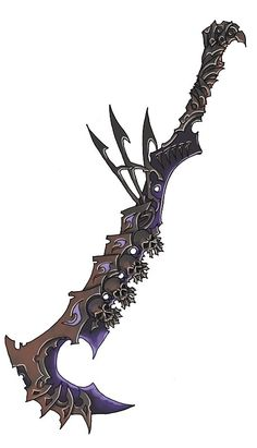 sword designs by Wen-M on DeviantArt Ninja Weapons, Anime Weapons, Sci Fi Weapons, Armor Concept, Weapon Concept Art, Weapons Guns, Fantasy Sword, Fantasy Armor, Fantasy Weapons