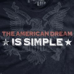 PREORDER The American Dream Normal-Fit T-Shirt