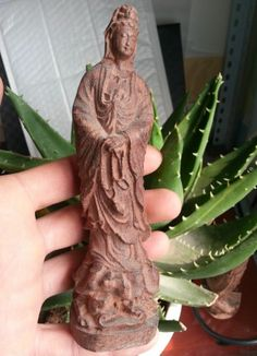 HEIGHT HAVE AROMA HARD WOOD CARVED Shakyamuni  GUAN YIN STATUE NR Guanyin, Hard Wood, Carving, Statue, Ebay, Wood Carvings, Sculptures, Printmaking, Sculpture