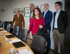 Princess Marie of Denmark attended the National Autism Conference on April 28, 2015 in Odense, Denmark