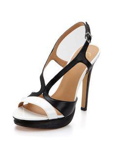 Gilt Groupe. Amazing black and white shoe.