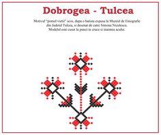 Pomul vieti, model traditional din Dobrogea, Tulcea. #dobrogea Cross Stitch, Blog, 1 Decembrie, Romania, Dreams, Tattoos, Fashion, Cots, Traditional