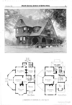 Cottage Floor Plans, Bungalow House Plans, House Floor Plans, Tiny Houses Plans With Loft, House Plans With Pictures, Sims 4 House Plans, Dream House Plans, Courtyard House Plans, Shingle Style Homes