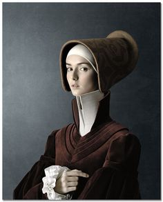 1503: Portrait of a young woman-Christian Tagliavini, 2010