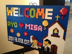 この画像は「意外と人気♡「レゴ®ブロック」で作ったウエルカムボードが楽しい♡」のまとめの60枚目の画像です