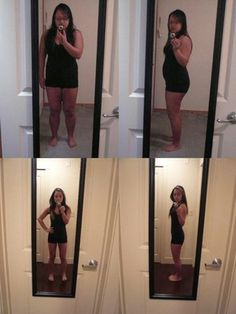 Before and after picture after doing HCG diet.  110 days to lose 65lbs. | Yelp