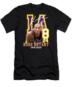 Kobe Bryant Shirt, Kobe Bryant Quotes, Bryant Lakers, Gigi Shirts, Vinyl Shirts, Custom Shirts, Kobe Bryant Birthday, Black Image