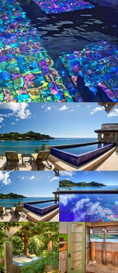 St. John Chocolate Hole Wimco Villa with pool and an outdoor shower CT BEA. #caribbean #travel #VirginIslands #wanderlust