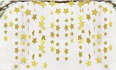 Fecedy Sparkling Star Garland Bunting for Baby shower,Wed... https://smile.amazon.com/dp/B01NCLR755/ref=cm_sw_r_pi_dp_x_mtF4ybQJAHH4E