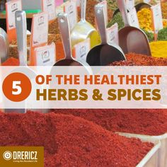The 5 Healthiest Herbs and Spices