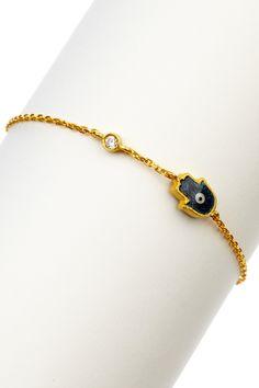 cute hamsa bracelet