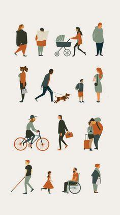 People Illustration, Flat Illustration, Character Illustration, Digital Illustration, Architecture People, Architecture Collage, Architecture Graphics, Human Vector, People Png
