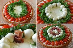 This Category celebrates the finest in quality Italian cuisine and Italian Wines. See our best selection of posts that dive into Italian food and wine! Quiche, Holiday Appetizers, Appetizer Recipes, Wine Recipes, Cooking Recipes, Italian Street Food, Healthy Finger Foods, Italian Meats, Antipasto