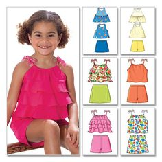 sewing pattern Butterick 4503 Childrens