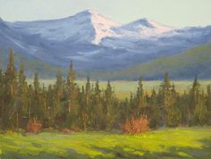 """Thanks for the Compliment by Mark Saenger Oil ~ 9"""" x 12"""""""