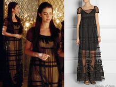 """In the episode 2x04 (""""The Lamb and the Slaughter"""") Queen Mary wears this sold out Vineet Bahl Tiered Tulle Maxi Dress."""