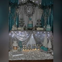 "Winter wonderland baby shower ""baby it's cold outside"""