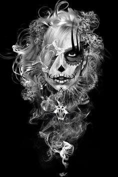 FANTASMAGORIK® MEXICAN LADY by obery nicolas, via Behance
