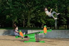 Photographer dad takes funny pictures of his daughters #someday --- Seesaw by jwlphotography, via Flickr