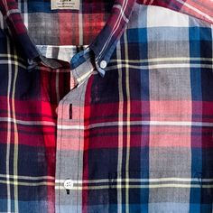 Indian cotton shirt in Bamfield plaid