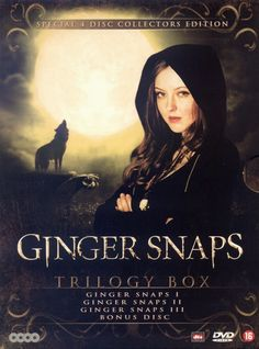 Best Movie Posters, Horror Movie Posters, Horror Movies, Halloween Movies, Scary Movies, Ginger Snaps Movie, Katharine Isabelle, Vampires And Werewolves, Movie Covers