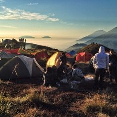 How Great is our God. Mount Prau