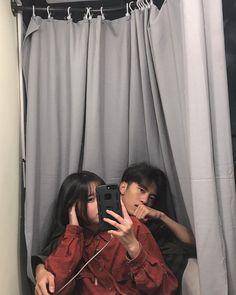 Cool boy and cute girl Mode Ulzzang, Korean Ulzzang, Ulzzang Boy, Couple Goals, Cute Couples Goals, Cute Relationship Goals, Cute Relationships, Cute Korean, Korean Girl