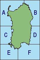 Carta delle zone dei mari