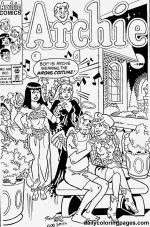betty and veronica coloring pages - photo#41
