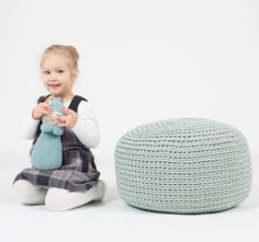 #sanfates #mint #pouf #handmade #homedecor #nurserydecor #elfin #interiordecor #minthome #mintdecor