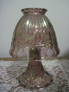 Fenton fairy lamp