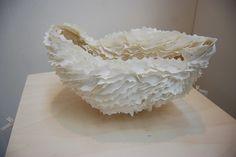 Francoise Joris  Maybe paper clay?