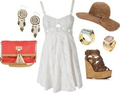 Beachy, created by tessa-mattessich on Polyvore