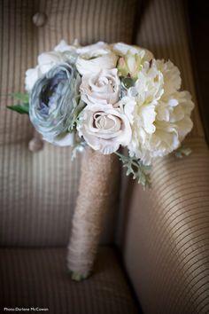 Dusty Miller Bush | Silk Flowers