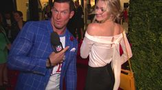 Brooklyn+Decker+at+NFL+Kickoff+Game+in+Denver+and+Steve+Weatherford+LIVE+from+opening+night+of+New+York+Fashion+Week