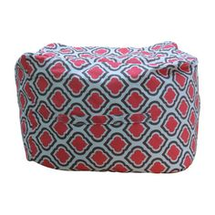 Premiere Home Curtis Ottoman Upholstery: Medallion - http://delanico.com/ottomans/premiere-home-curtis-ottoman-upholstery-medallion-604948673/