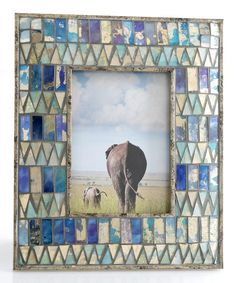 Loving this Midar Geometric Tile Frame on #zulily! #zulilyfinds