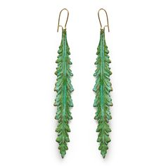 Skylla Verdigris Earrings